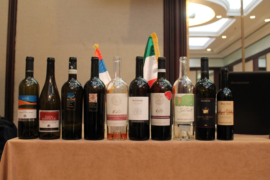 Must-Try Wines from Campania, Puglia, Calabria & Sicilia