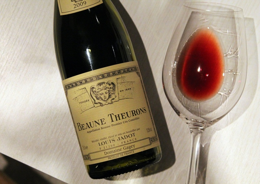 Wine Blown: Louis Jadot Beaune 1er Cru Theurons 2009