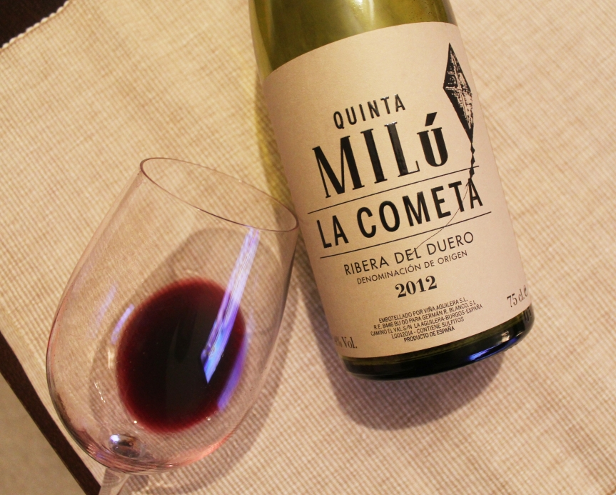 Wine Blown: Quinta Milú La Cometa 2012