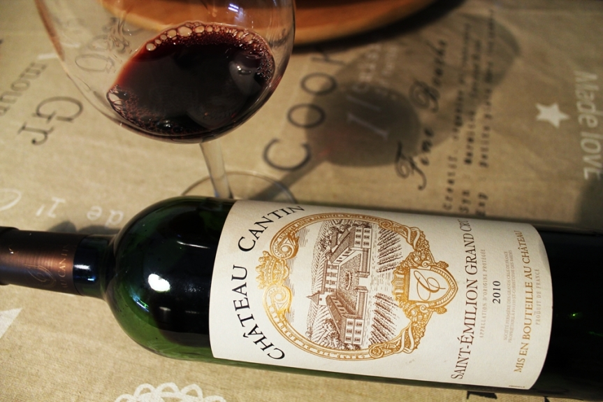 Wine Blown: Château Cantin 2010