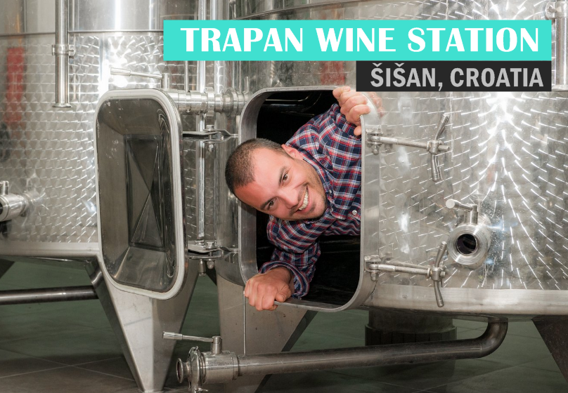 Your Istrian Go-To Winemaker: Trapan Wine Station