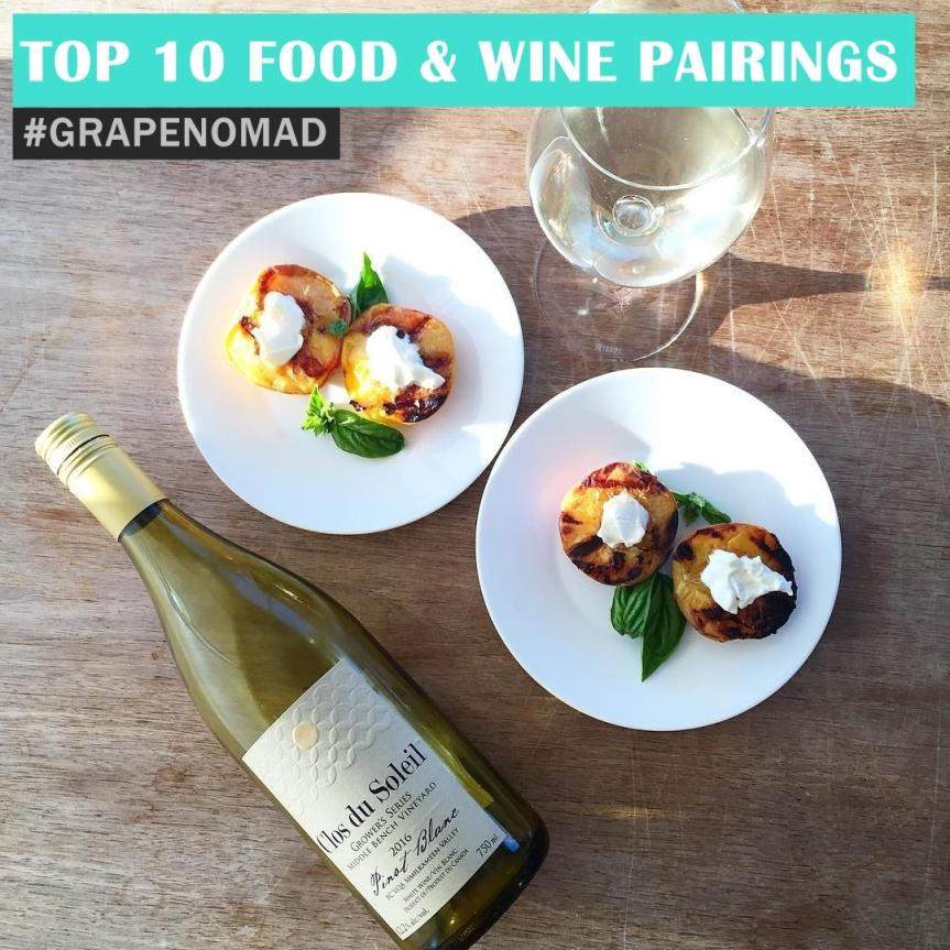 Top 10 Food & Wine Pairings of theWeek